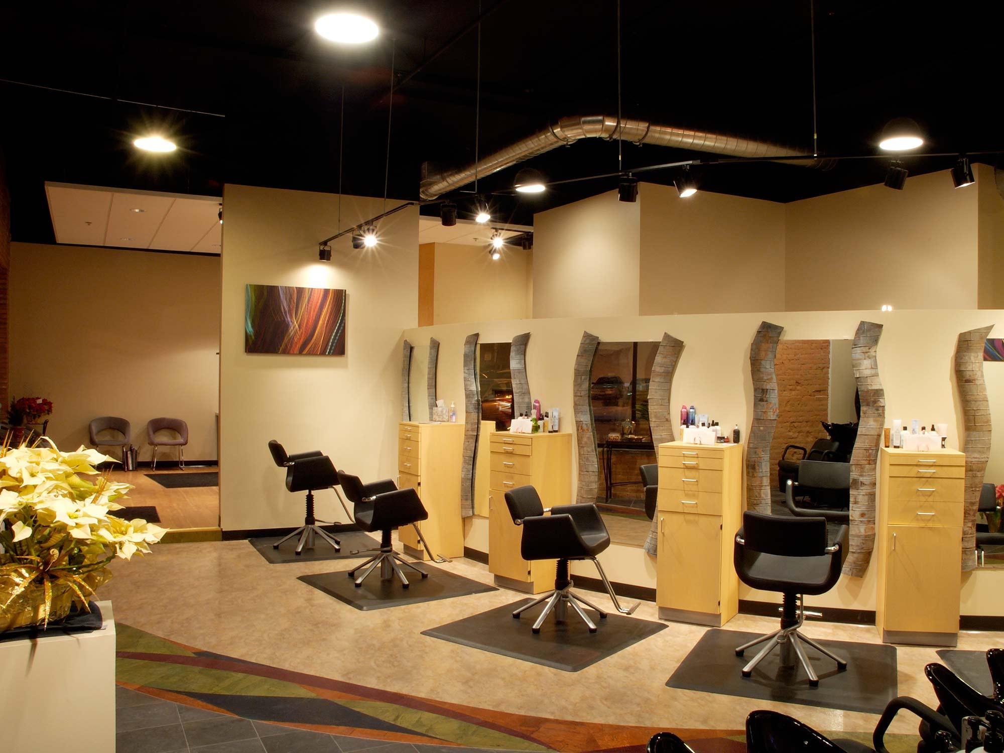 Raydiance Salon Mankato Chair Layout