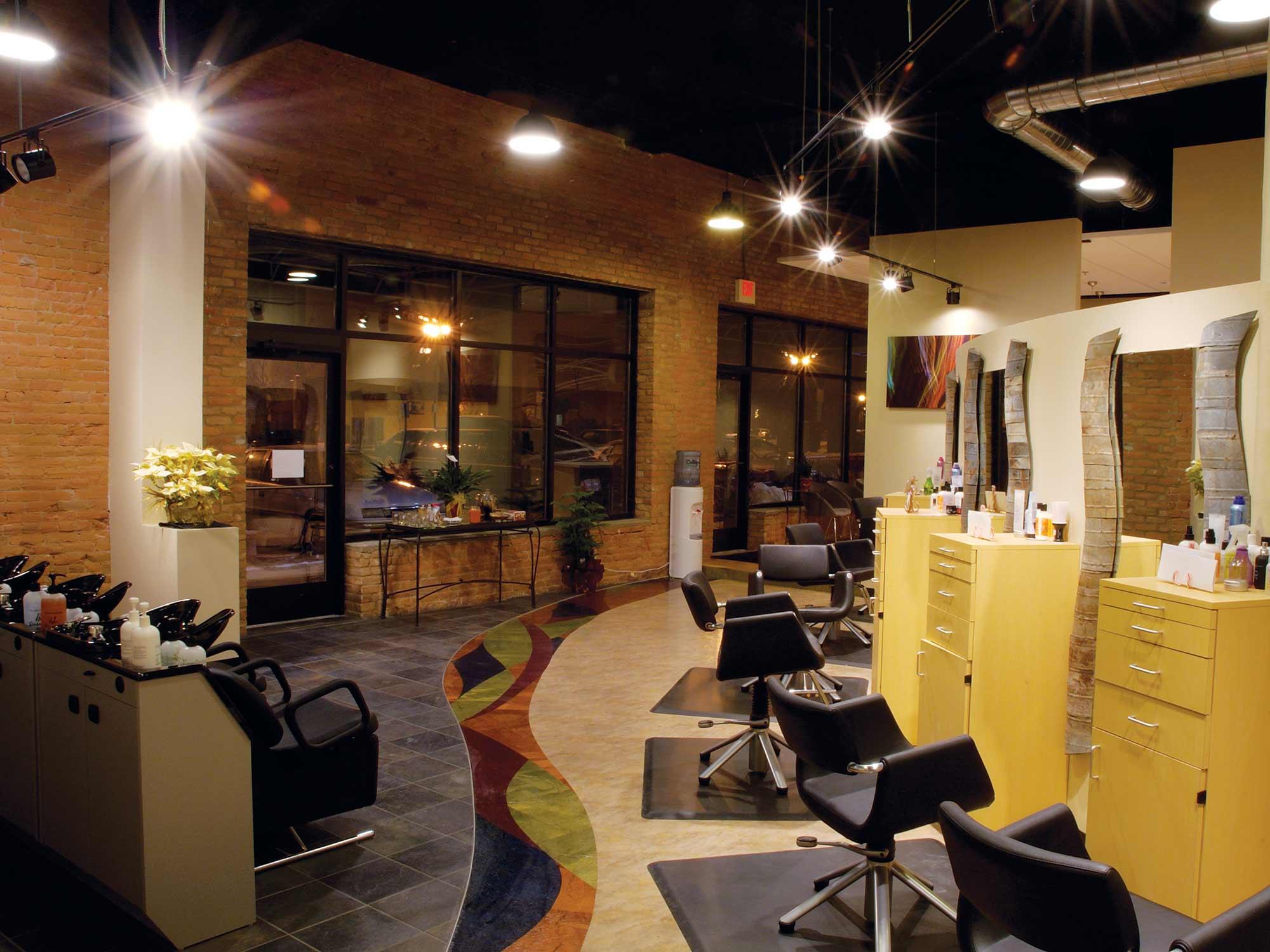 Raydiance Salon Mankato Interior Design