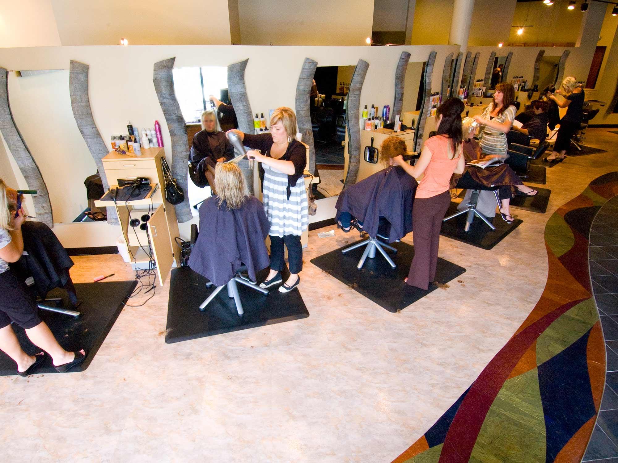 Raydiance Salon Mankato Double Booked