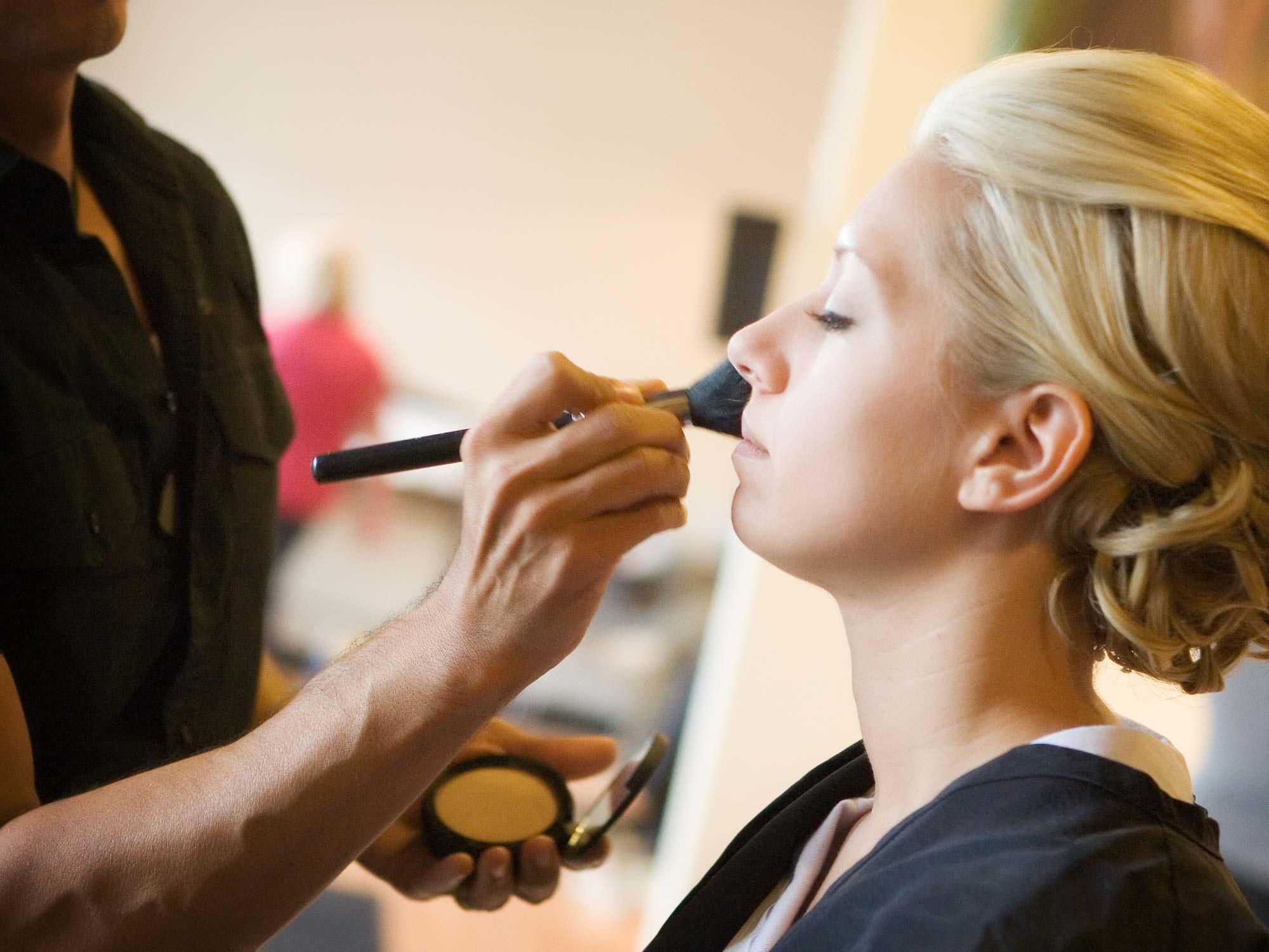 Raydiance Salon Mankato Makeup Application